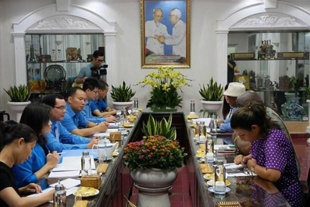 Refuerza Vietnam cooperacion con Federacion Sindical Mundial hinh anh 1