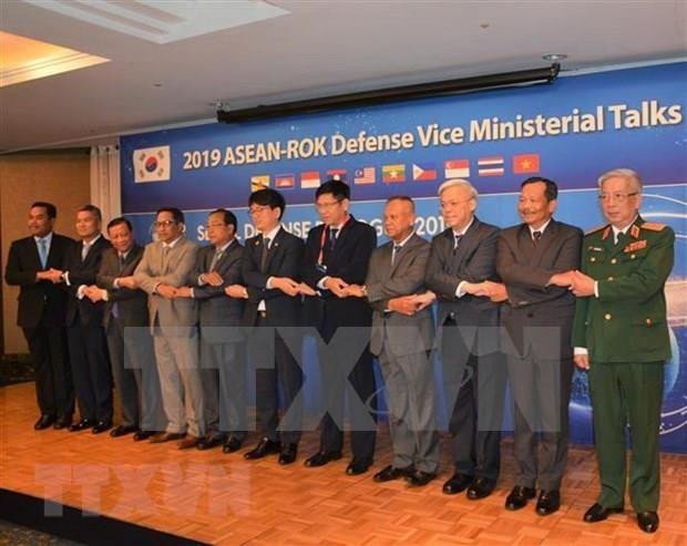 Prioriza Vietnam fomento de cooperacion en Defensa entre la ASEAN y Corea del Sur hinh anh 1
