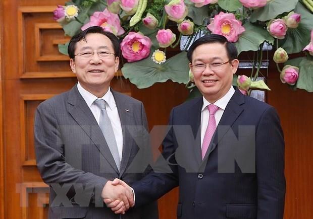 Estimula Vietnam inversiones sudcoreanas en parques industriales hinh anh 1