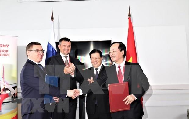 Priorizan Vietnam y Rusia su cooperacion en sector petrolero hinh anh 1