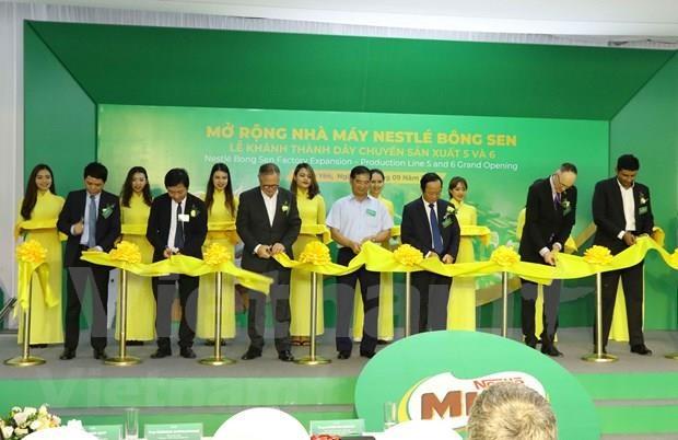 Expande Nestle produccion en provincia vietnamita hinh anh 1