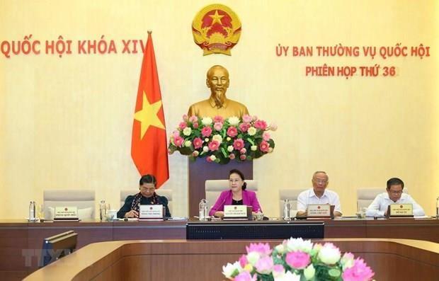 Sesionara Comite Permanente del Parlamento de Vietnam la proxima semana hinh anh 1