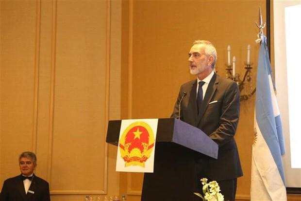 Celebran aniversario 74 del Dia Nacional de Vietnam en Argentina hinh anh 1