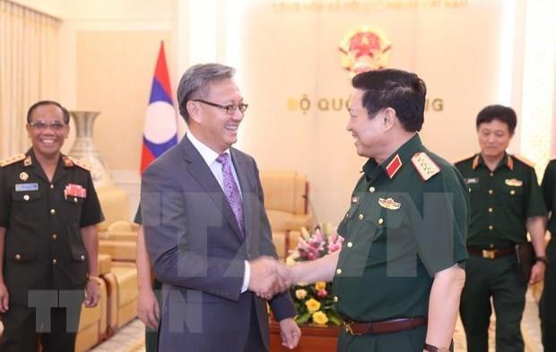 Abogan Vietnam y Laos por preservar sus nexos de solidaridad especial hinh anh 1