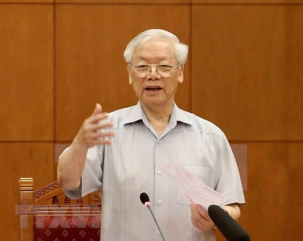 Sesiona reunion del subcomite sobre los documentos del XIII Congreso del Partido Comunista de Vietnam hinh anh 1