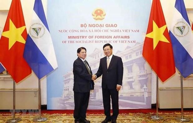 Nicaragua considera a Vietnam socio importante en Asia- Pacifico hinh anh 1
