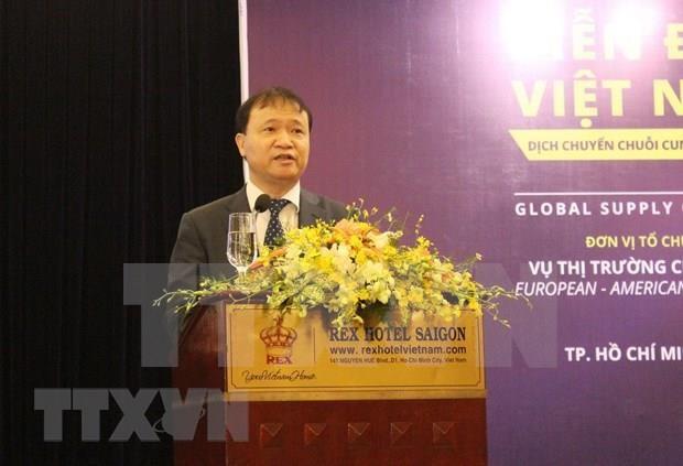 Destacan grandes potencialidades de cooperacion comercial entre Vietnam y EE.UU. hinh anh 1