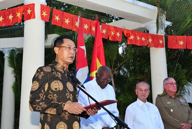 Vicepresidente cubano desea mayores exitos a Vietnam hinh anh 2