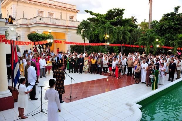 Vicepresidente cubano desea mayores exitos a Vietnam hinh anh 1