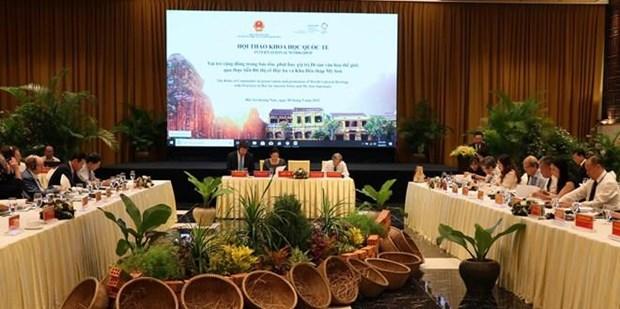 Provincia vietnamita se empena en preservar patrimonios de la humanidad hinh anh 1