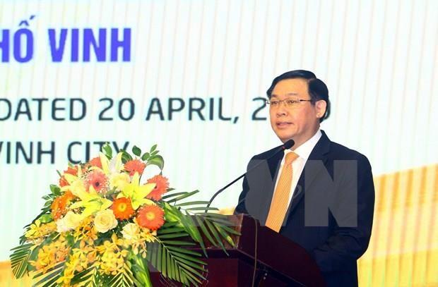 Urge a ciudad vietnamita a acelerar aplicacion de tecnologias para el desarrollo hinh anh 1