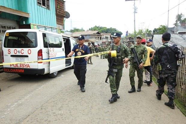 Realizan en Filipinas ataque suicida contra cuartel militar hinh anh 1