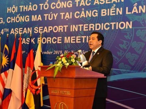 Paises de la ASEAN patentizan en Vietnam compromiso de reforzar lucha contra drogas hinh anh 1