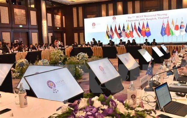 Aseguran que negociaciones de Asociacion Economica Integral Regional concluiran a fines de 2019 hinh anh 1