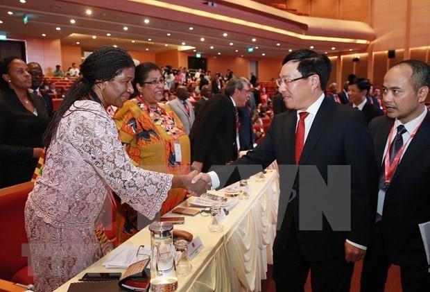 Destaca vicepremier de Vietnam potencialidades de cooperacion con Oriente Medio y Africa hinh anh 1
