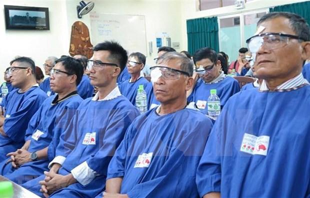 Ofrece Ciudad Ho Chi Minh cirugias de catarata a 600 mil pacientes pobres hinh anh 1