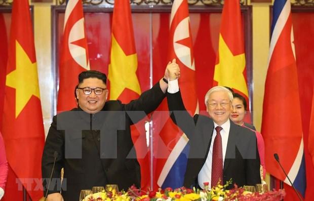 Envia Vietnam felicitaciones a Corea del Norte en ocasion del Dia Nacional hinh anh 1