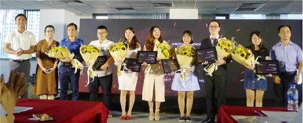 Gana empresa Medlink primer premio en concurso VietChallenge 2019 hinh anh 1