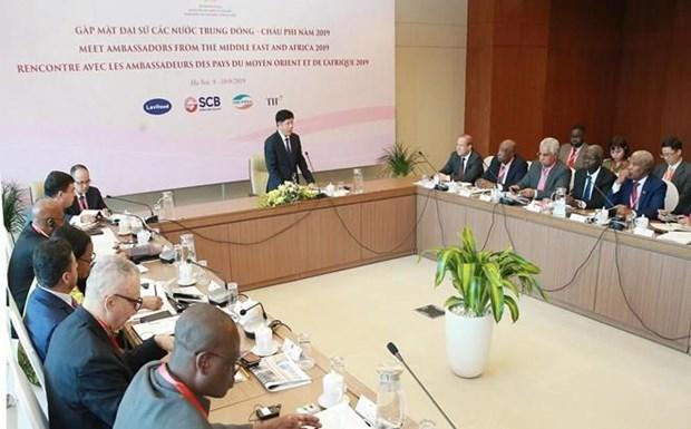 Vietnam busca intensificar relaciones con Medio Oriente y Africa hinh anh 1