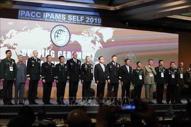 Inauguran Conferencia de Jefes de Defensa del Indo-Pacifico en Tailandia hinh anh 1