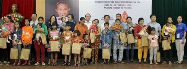 Realizan en Vietnam cirugias gratuitas a mas de 200 ninos con deformaciones faciales hinh anh 1
