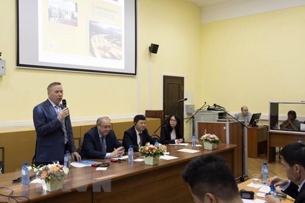 Destacan en Rusia carrera y pensamiento del Presidente Ho Chi Minh hinh anh 1