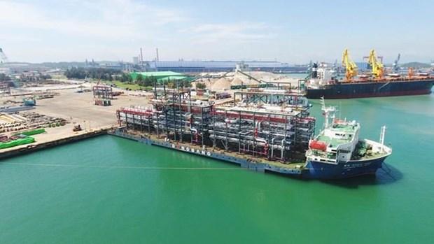 Exporta empresa vietnamita modulos gigantes a Emiratos Arabes Unidos hinh anh 1