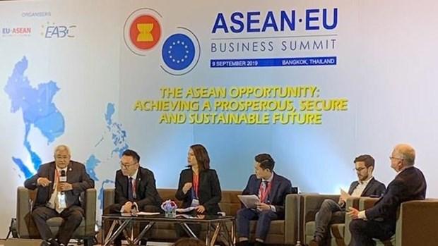 Muestra optimismo la UE sobre negociaciones de TLC con Tailandia hinh anh 1