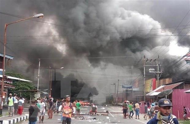 Investiga Indonesia presunto involucramiento del Estado Islamico en disturbios en Papua hinh anh 1