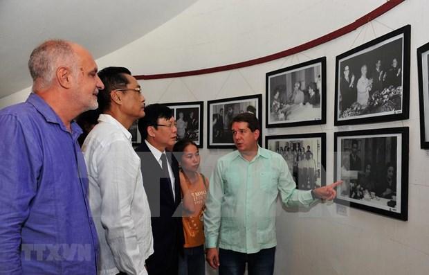 Ratifican Vietnam y Cuba camino comun en el periodismo hinh anh 1