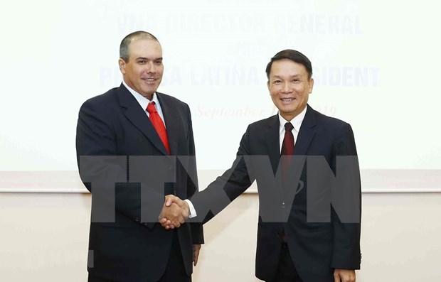 Agencias noticiosas de Vietnam y Cuba se proponen intensificar cooperacion hinh anh 1