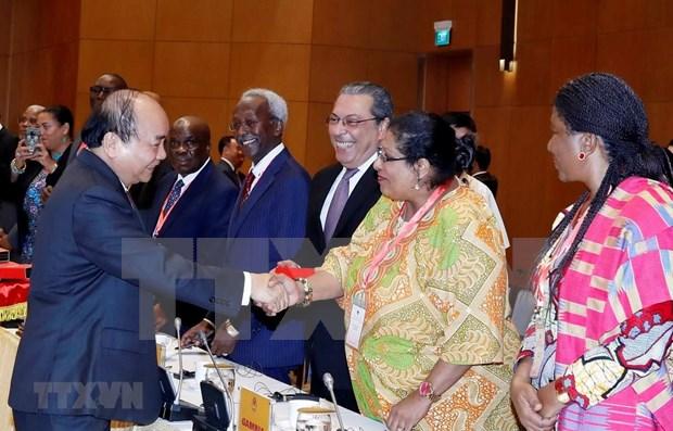 Reitera Vietnam atencion concedida a relaciones con paises en Oriente Medio y Africa hinh anh 1