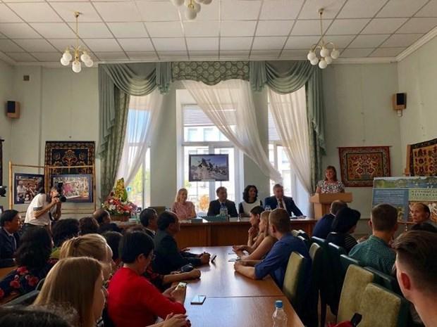 Presentan en Ucrania obra de literatura vietnamita hinh anh 1