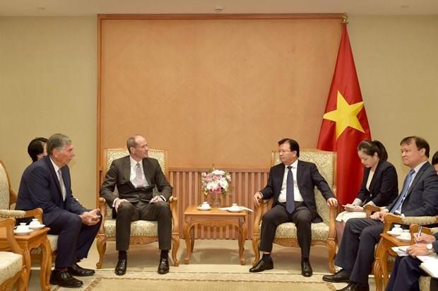 Incentivan inversiones del Reino Unido en Vietnam hinh anh 1
