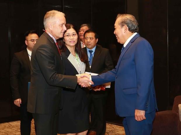 Pide vicepremier vietnamita una mayor cooperacion internacional en lucha contra drogas hinh anh 1