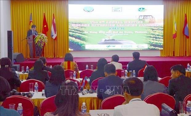 Paises de subregion del Mekong comparten experiencias en desarrollo agricola hinh anh 1
