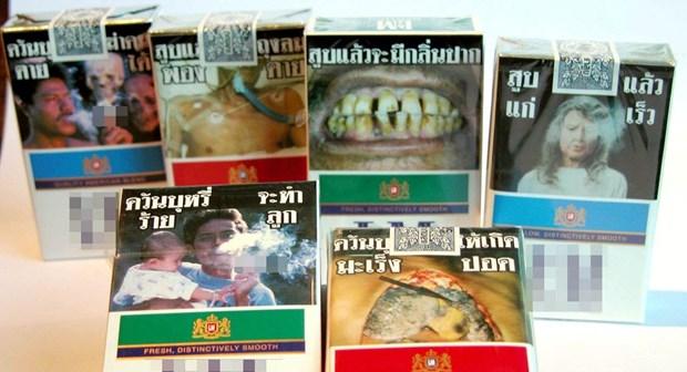 Tailandia, primer pais asiatico en legalizar generico envase de cigarrillos hinh anh 1
