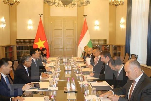 Acordaron Vietnam y Hungria intensificar cooperacion en tecnologias y comunicacion hinh anh 1