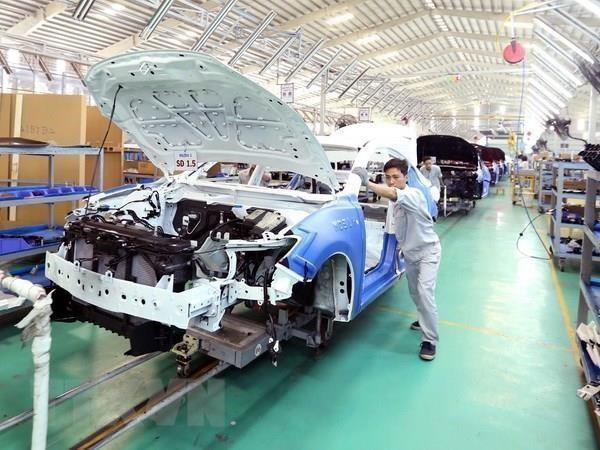 Disminuyen en Vietnam ventas de automoviles en agosto hinh anh 1