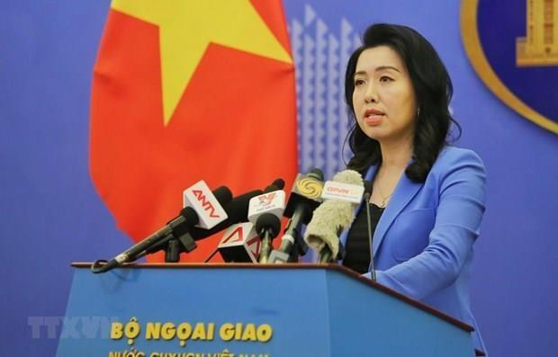 Vietnam reitera rechazo a las violaciones de China en sus aguas territoriales hinh anh 1