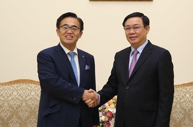 Vicepremier vietnamita aplaude propuestas de cooperacion de prefectura japonesa de Aichi hinh anh 1