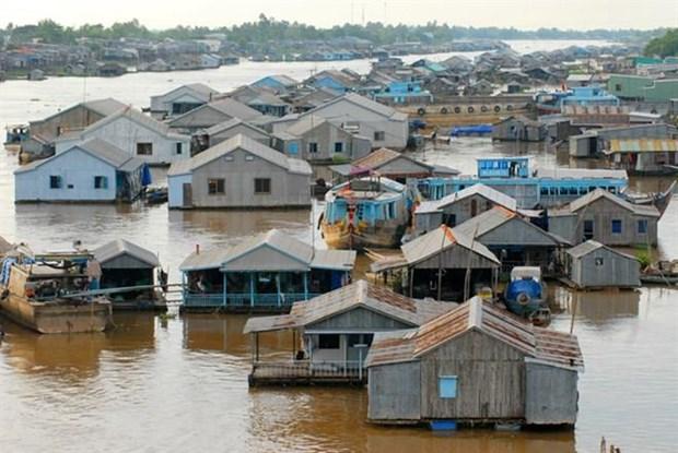 Proyecto de casas antinundaciones en Vietnam surte efecto en el centro hinh anh 1