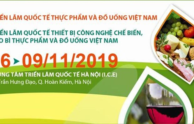 Efectuaran en Vietnam exposiciones internacionales de alimentos y bebidas hinh anh 1