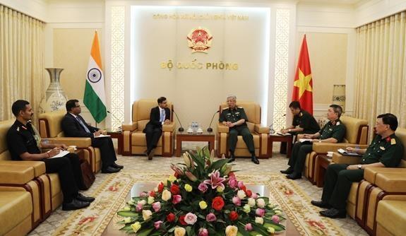 Concede Vietnam importancia a cooperacion con la India en defensa hinh anh 1