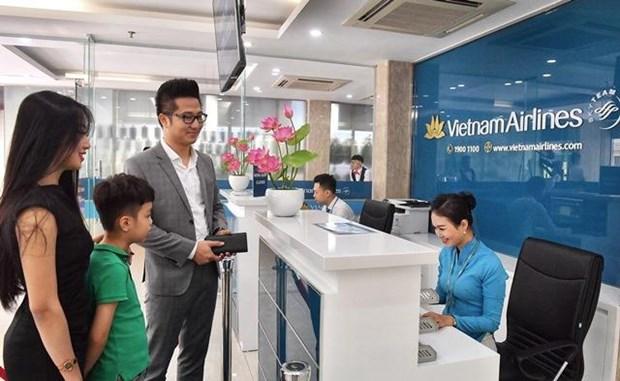 Lanzaran registro por telefono para los vuelos de Vietnam Airlines desde Hanoi hinh anh 1