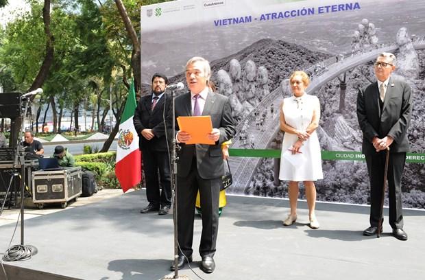 Inauguran en Mexico exposicion fotografica sobre Vietnam y su pueblo hinh anh 1