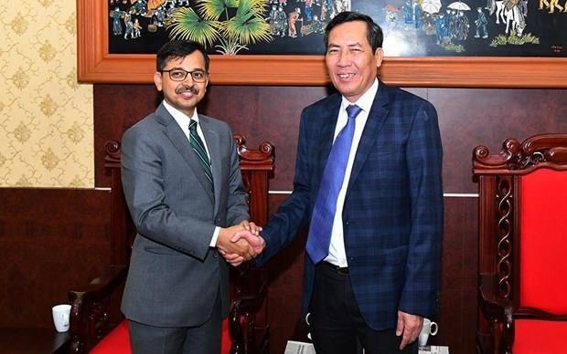Fortalecen Vietnam y la India cooperacion en la prensa hinh anh 1