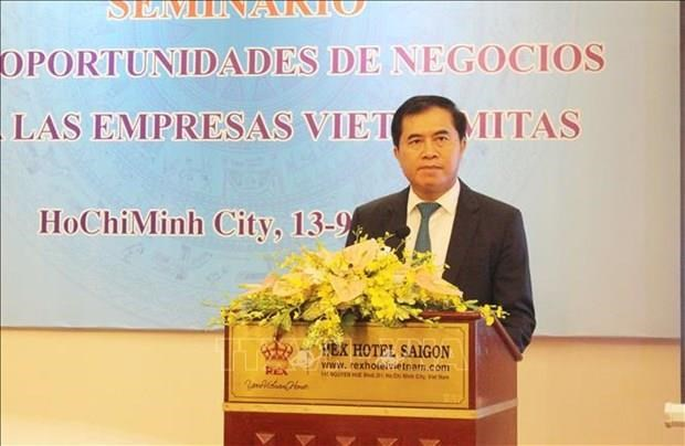 Promueven Vietnam y Cuba cooperacion en inversiones y comercio hinh anh 1