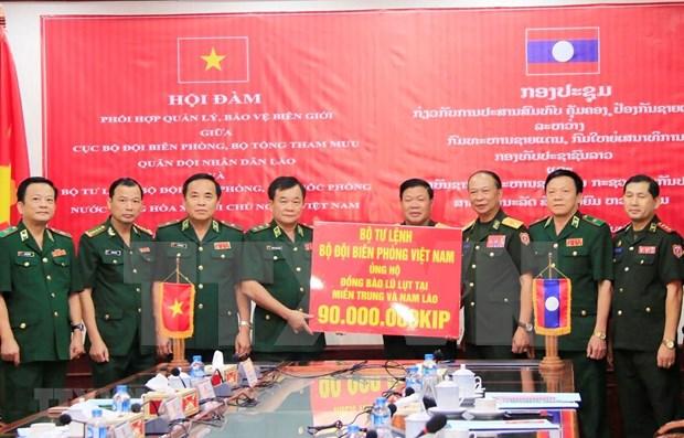 Proyectan Vietnam y Laos fomentar la cooperacion en asuntos fronterizos hinh anh 1