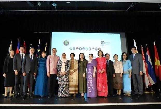 Estimulan cooperacion de la ASEAN con Alemania y la UE hinh anh 1
